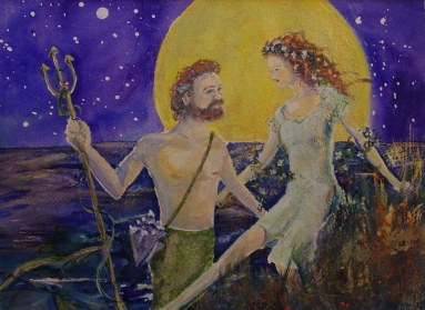 Neptune and Mother Earth - Donated